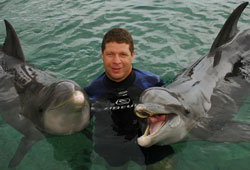 Chris and Dolphins