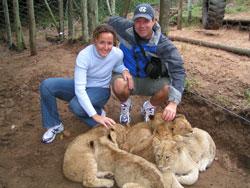 Chris, Morgan, and cubs